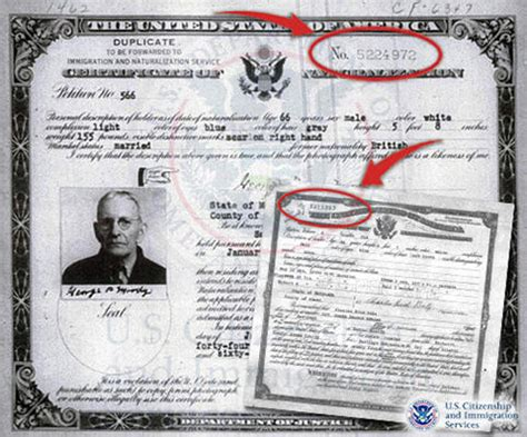 Uscis Number Search Pin Naturalization Certificate Image Search Results On