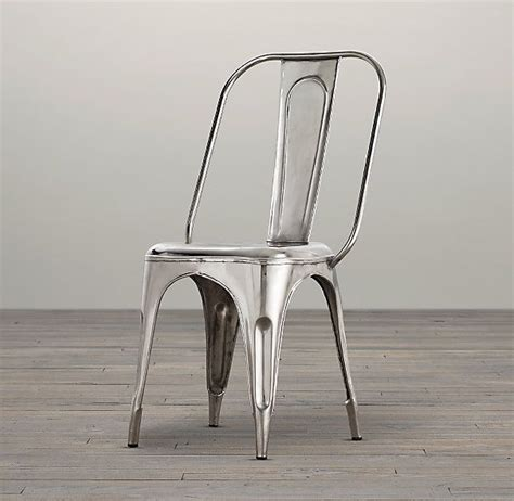 remy side chair in gunmetal or chrome myhaus