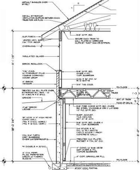construction section drawing types of section drawings construction drawings
