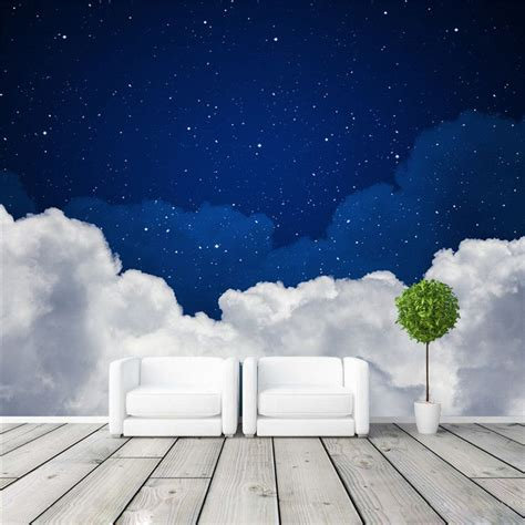 night sky photo wallpaper galaxy wallpaper custom
