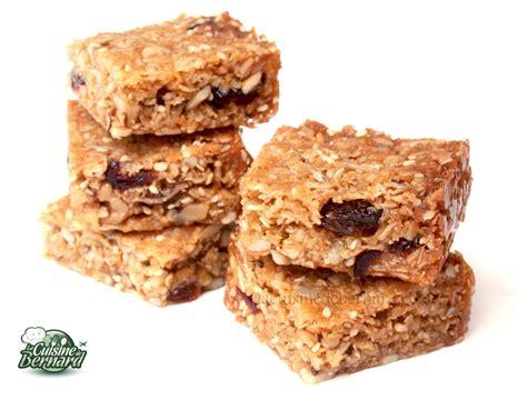 cuisine bernard la cuisine de bernard granola cakes