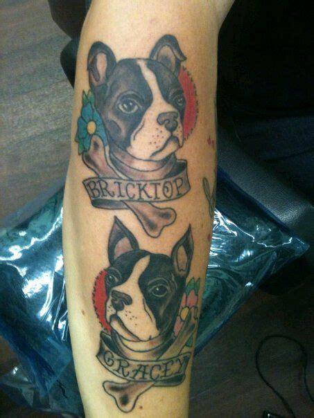 tattoo prices boston 269 best boston terrier tattoo images on pinterest