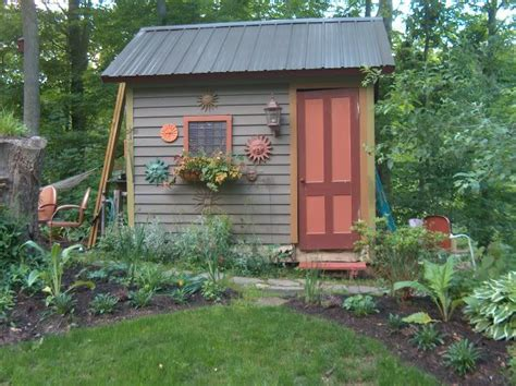 Garden Shed Decor Ideas Cottage Garden Sheds Potted Plants For All Seasons Shed Plans Kits