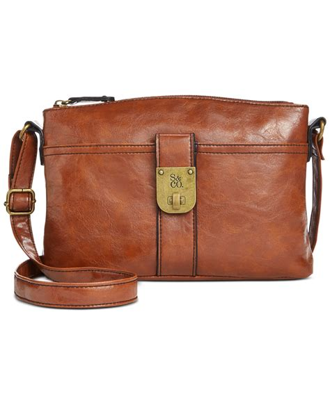style co only at macy s in brown luggage lyst