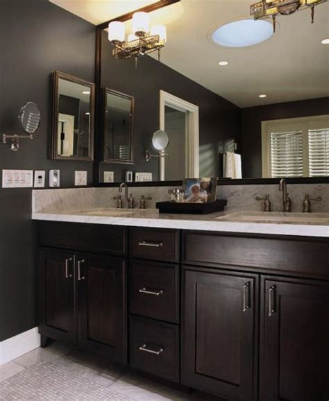 dark cabinets in bathroom 1000 ideas about black cabinets bathroom on pinterest