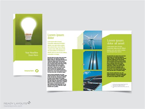 indesign trifold template free indesign tri fold brochure templates free