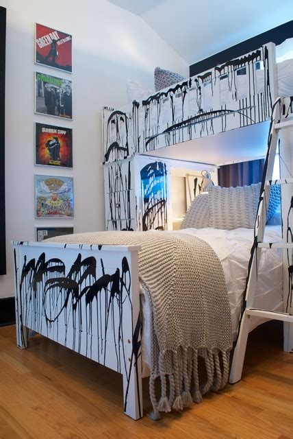 rock bedroom punk rock bedroom contemporary kids los angeles by