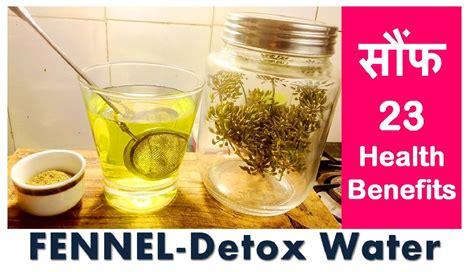 Recipe Detox Water Fennel by Weightloss Fennel Detox Water For Stubborn Fats