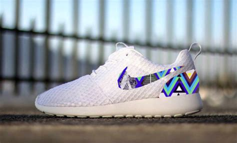 tribal pattern roshe runs shoes roshe runs roshes aztec tribal pattern white