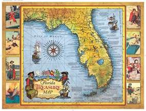 treasure maps florida florida treasure map historic print map company