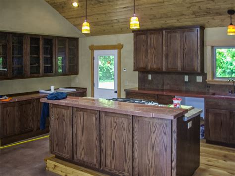 dark stained kitchen cabinets dark stained kitchen cabinets quicua com