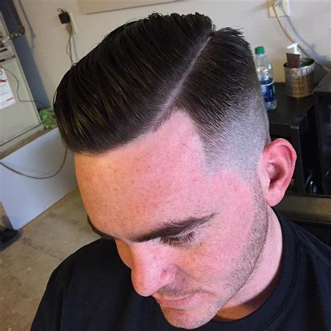 mens haircuts parted to the side 26 side parted hairstyle designs ideas design trends