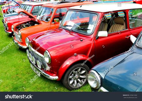 mini stock cars for sale uk nottingham uk june 1 2014 row of mini cooper vintage