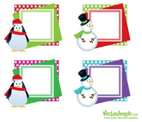 Printable Christmas Frames | 7 best images of free printable christmas frames free