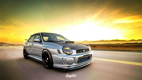 bugeye subaru bugeye wrx at sunset tynan motors car sales