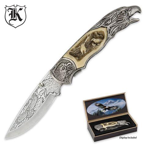 knife display box soaring eagle folding knife with display box budk