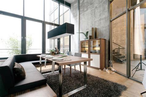 industrial einrichtung esszimmer einrichtung aktuelles design in 80 bildern