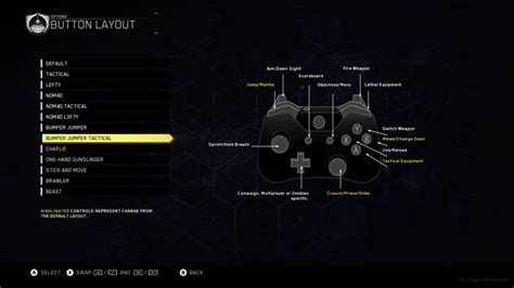 ps4 layout youtube call of duty infinite warfare best button layout