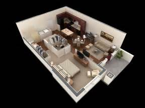 One Bedroom Home Plans by 1 Bedroom Apartment House Plans