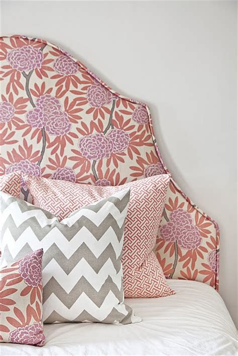 pattern fabric headboard good or bad decorating decision upholstered headboards
