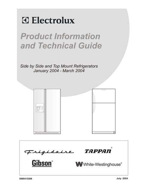 electrolux refrigerator frs26rlecs2 wiring schematic