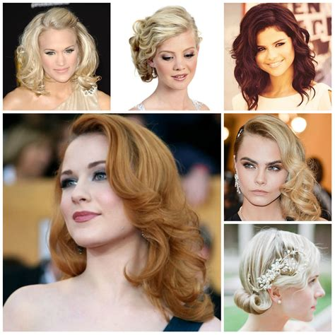 Medium Prom Hairstyles by Prom Hairstyles 2017 Haircuts Hairstyles And Hair Colors
