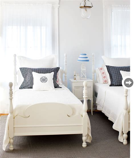 how to style a bed interiors twin beds twins and bedrooms