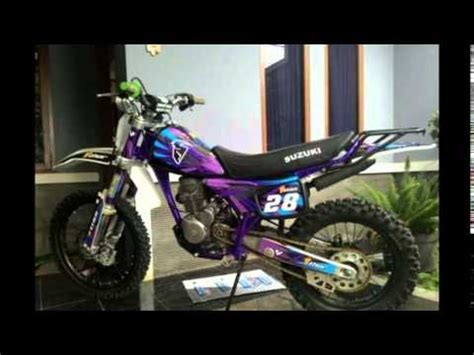 Knalpot Suzuki Trail Ts 125 Ori modifikasi motor honda tiger trail modif trail frame ori suzuki ts option