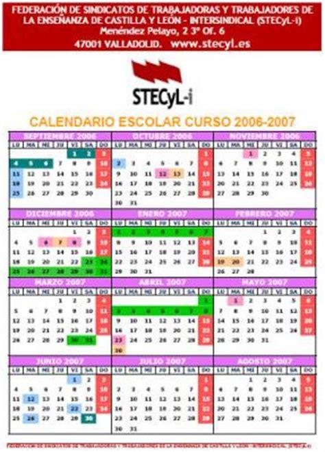 Calendario Escolar 2006 A L I
