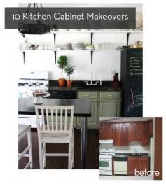 Kitchen Cabinet Makeover Diy Roundup 10 Inspiring Kitchen Cabinet Makeovers Curbly