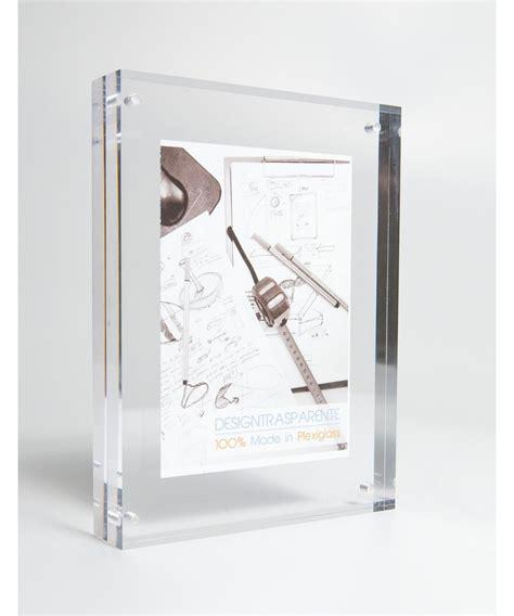 cornici in plexiglass cornice portafoto da tavolo in plexiglass trasparente