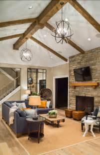 No Ceiling Light In Living Room Stylish Family Home With Transitional Interiors Home Bunch Interior Design Ideas