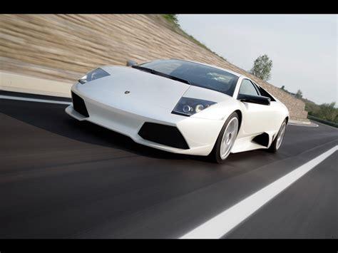 White Lamborghini Murcielago Lamborghini Murcielago Lp640 White Front Angle Speed