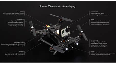 Dijamin Walkera Runner 250 Gps Brushless Esc Ccw Runner 250 Z 17 walkera runner 250 drone racer modular design hd