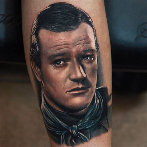 john wayne tattoos the duke himself wayne by
