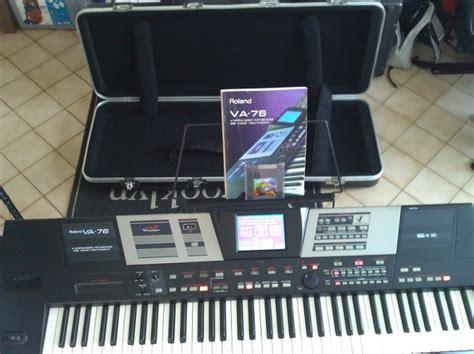 Keyboard Roland Va 76 roland va 76 image 868041 audiofanzine
