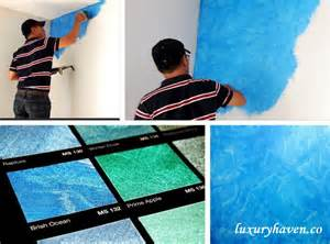 Paint Ideas Bedroom nippon paint momento special effects paint