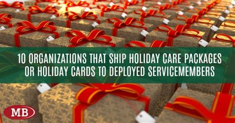 Places That Donate Gift Cards - looking for places to donate holiday gift packages or holiday cards to troops deployed