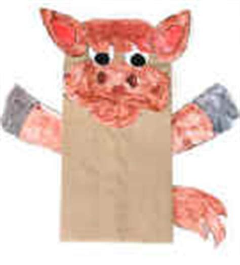 paper bag donkey pattern donkey crafts for kids