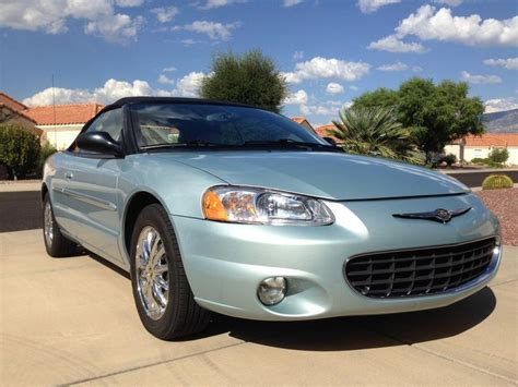 Chrysler Sebring Convertibles For Sale by 2002 Chrysler Sebring Convertible For Sale 1871235