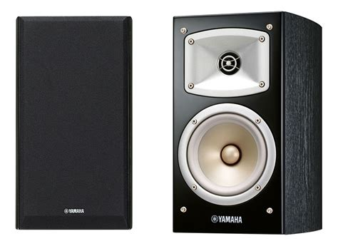 yamaha ns b330 black bookshelf speakers pair bookshelf
