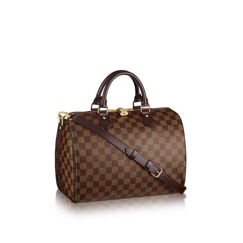 Tas Lv Speedy Bandoliere 25 Damier louis vuitton speedy bandouli 232 re 30 lg damier ebene handbags