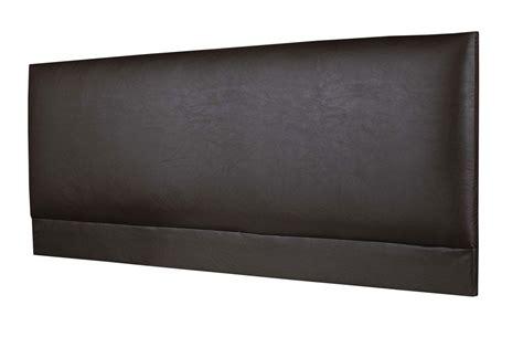 brown leather headboard raffles faux leather headboard