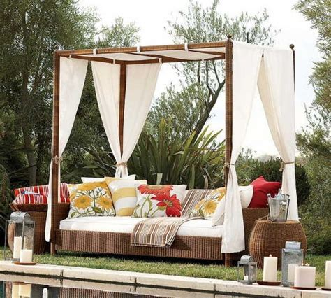 outdoor bed with canopy outdoor canopy beds