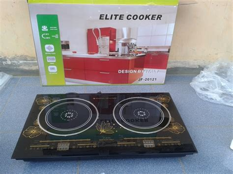Kompor National 2 Tungku induction cooker 1 dan 2 tungku kompor elite like lejel
