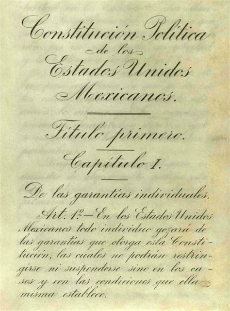 constitucion de 1917 file pagina original del articulo 1 de la constitucion de