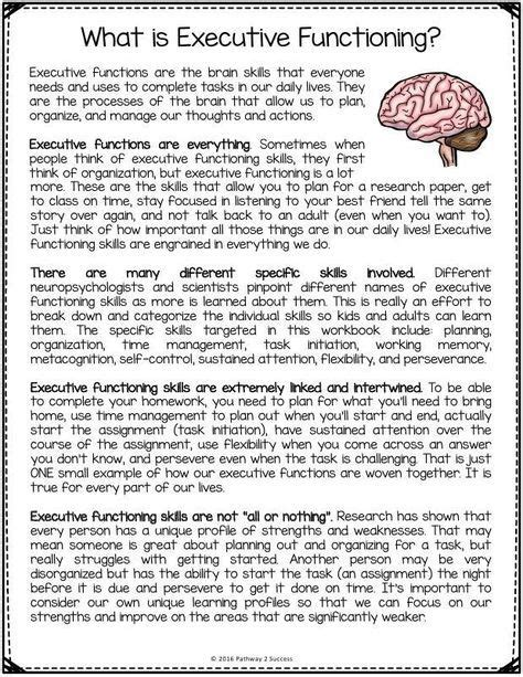 new strategies for teaching middle school health 17 best images about executive functioning resources for