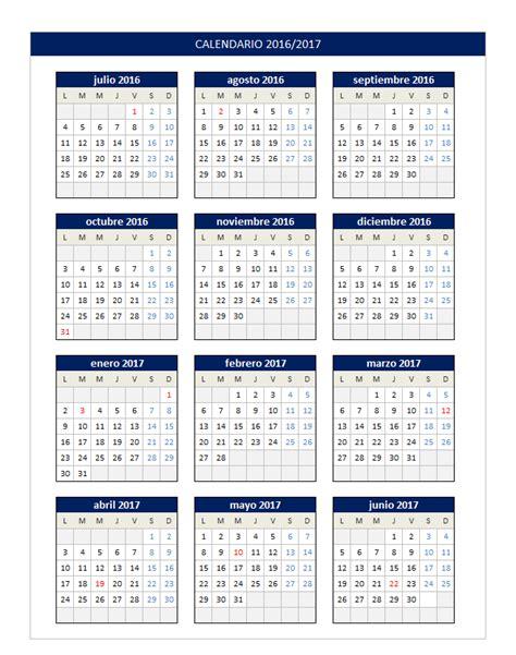 Imprimir Calendario 2016 2017 Calendarios Espectaculares 2017 Para Imprimir Hoy Im 225 Genes