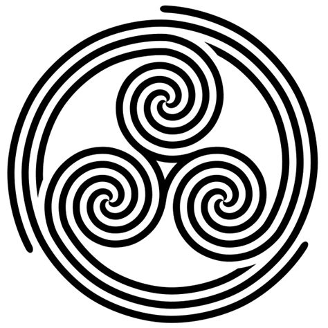 file triple triple spiral triskelion svg wikimedia commons