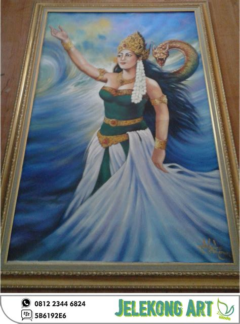 Cari Lukisan Nyi Roro Kidul Kaskus jual lukisan nyi roro kidul ukuran 135 x 85 cm jelekong